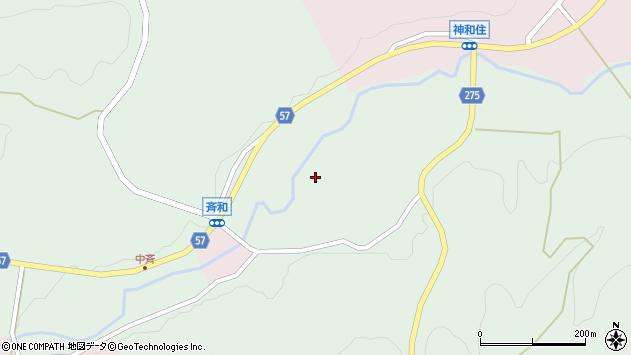 〒928-0326 石川県鳳珠郡能登町斉和の地図