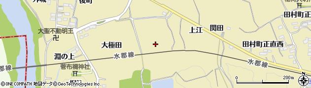 福島県郡山市田村町御代田(谷地)周辺の地図