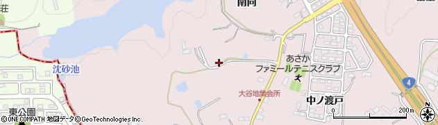 福島県郡山市安積町笹川(荒池)周辺の地図