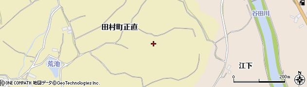 福島県郡山市田村町正直(宮前)周辺の地図