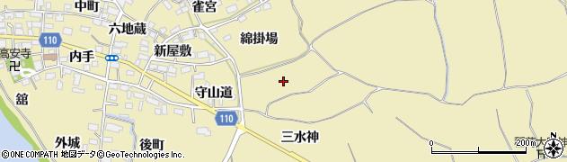 福島県郡山市田村町御代田(屋敷後)周辺の地図