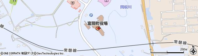福島県双葉郡富岡町周辺の地図