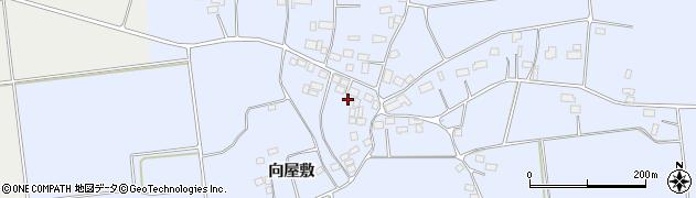福島県郡山市三穂田町鍋山(仲屋敷)周辺の地図