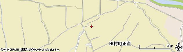 福島県郡山市田村町正直(篭田)周辺の地図