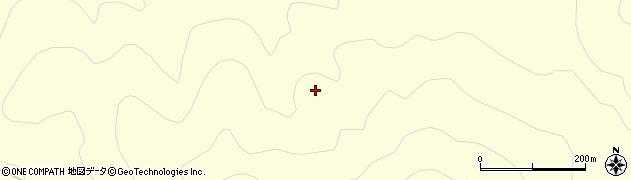 福島県郡山市湖南町中野(土武)周辺の地図