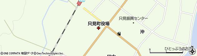 福島県只見町(南会津郡)周辺の地図