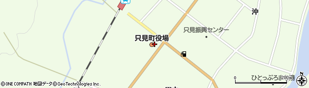 福島県南会津郡只見町周辺の地図