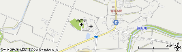 古川養鯉場周辺の地図