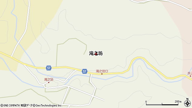 〒927-0627 石川県鳳珠郡能登町福光の地図