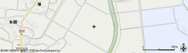 福島県郡山市三穂田町富岡(助市田)周辺の地図