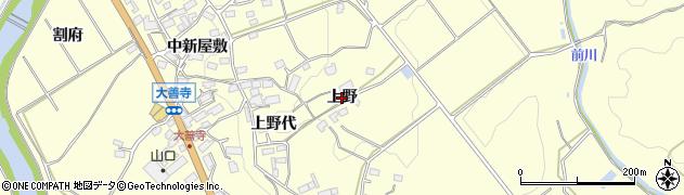 福島県郡山市田村町大善寺(上野)周辺の地図
