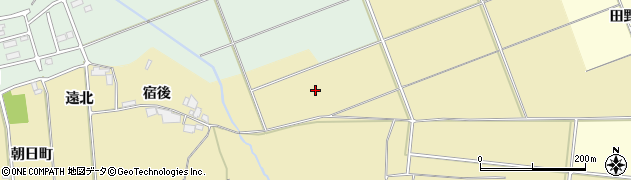 福島県郡山市田村町御代田(反田)周辺の地図