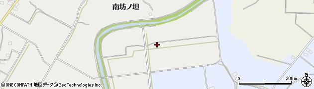 福島県郡山市三穂田町富岡(一本柳)周辺の地図