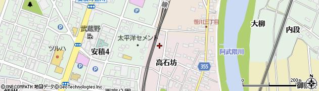 福島県郡山市安積町笹川(川崎)周辺の地図
