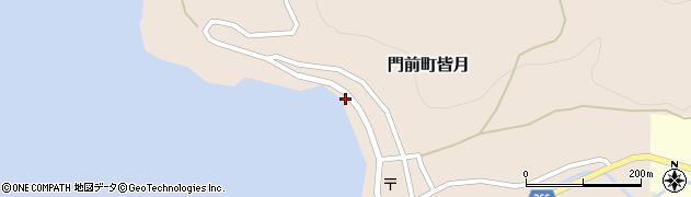 石川県輪島市門前町皆月(ツ)周辺の地図