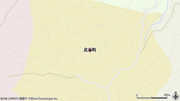 〒928-0027 石川県輪島市北谷町の地図