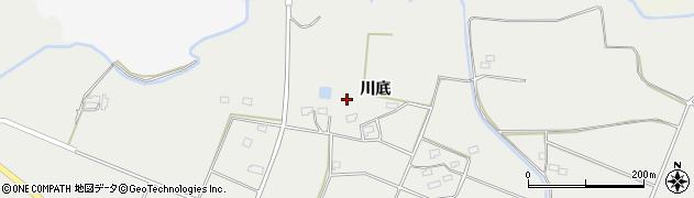 福島県郡山市三穂田町富岡(川底)周辺の地図