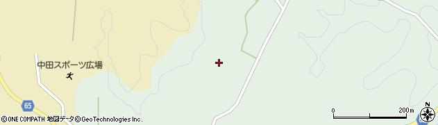 福島県郡山市中田町下枝(寺屋敷)周辺の地図