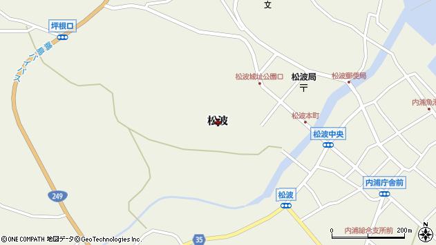 〒927-0602 石川県鳳珠郡能登町明生の地図