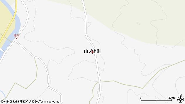 〒928-0014 石川県輪島市山ノ上町の地図