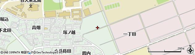 福島県郡山市田村町徳定(館前)周辺の地図