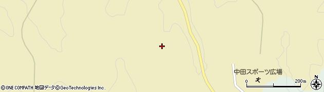 福島県郡山市中田町海老根(梅木作)周辺の地図