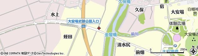 福島県郡山市田村町大善寺(下川原)周辺の地図