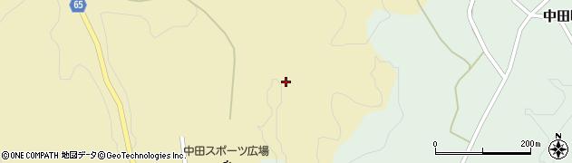 福島県郡山市中田町海老根(長畑)周辺の地図