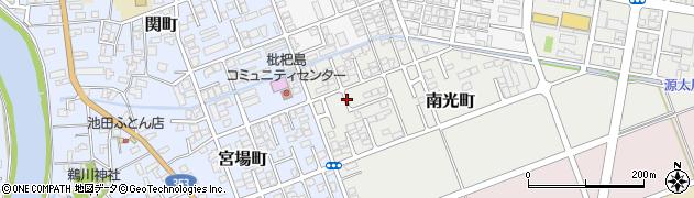 新潟県柏崎市南光町周辺の地図