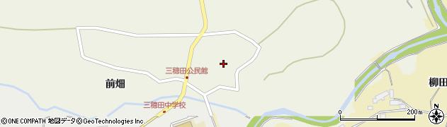 福島県郡山市三穂田町八幡(東屋敷)周辺の地図