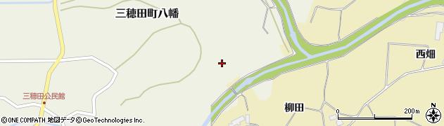 福島県郡山市三穂田町八幡(山崎)周辺の地図