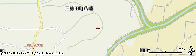 福島県郡山市三穂田町八幡(東山)周辺の地図