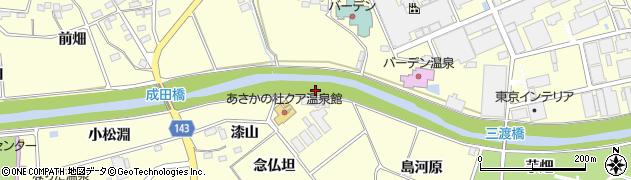 福島県郡山市安積町成田(米田)周辺の地図