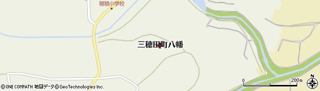 福島県郡山市三穂田町八幡周辺の地図