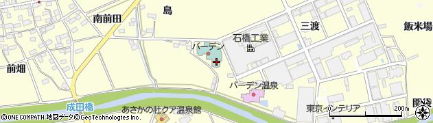 福島県郡山市安積町成田(島ノ前)周辺の地図