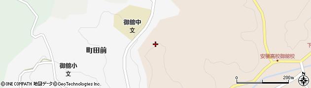 福島県郡山市中田町柳橋(狐塚)周辺の地図