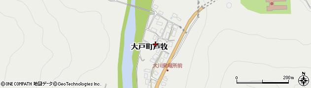 福島県会津若松市大戸町大字芦牧周辺の地図