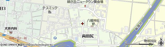 新潟県柏崎市両田尻周辺の地図
