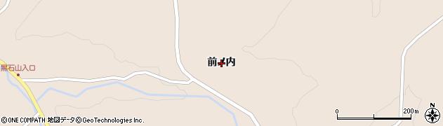 福島県郡山市中田町柳橋(前ノ内)周辺の地図