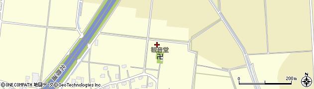 新潟県柏崎市下田尻周辺の地図