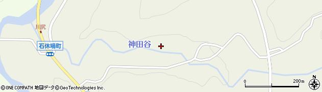 石川県輪島市石休場町(中江川)周辺の地図