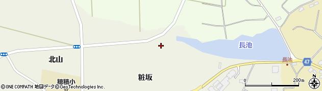 福島県郡山市三穂田町八幡(上高玉)周辺の地図
