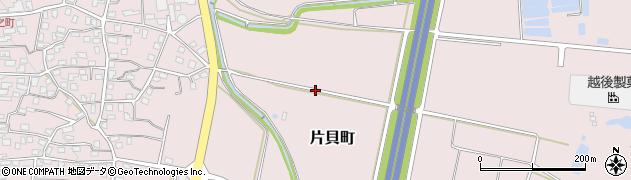 新潟県小千谷市片貝町周辺の地図