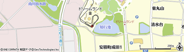福島県郡山市安積町成田(丸山)周辺の地図