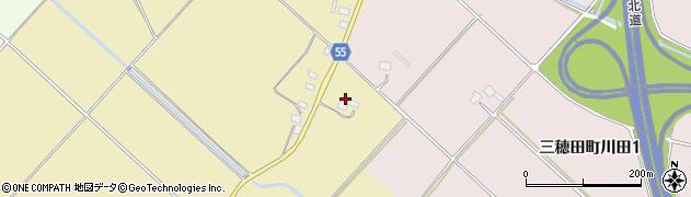 福島県郡山市三穂田町駒屋(北ノ内)周辺の地図