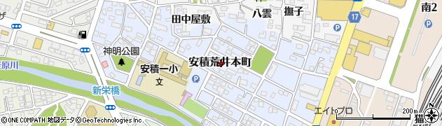 福島県郡山市安積荒井本町周辺の地図