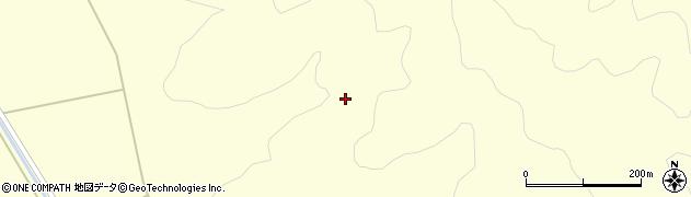 福島県郡山市湖南町中野(蟹沢)周辺の地図