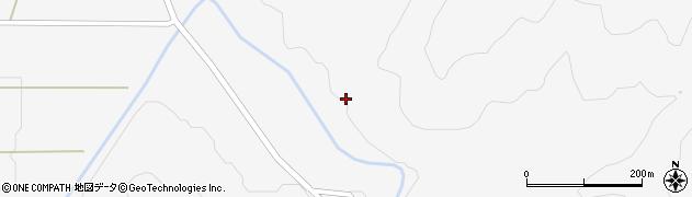 福島県郡山市湖南町三代(水上)周辺の地図