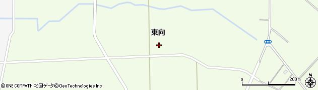福島県郡山市三穂田町大谷(東向)周辺の地図