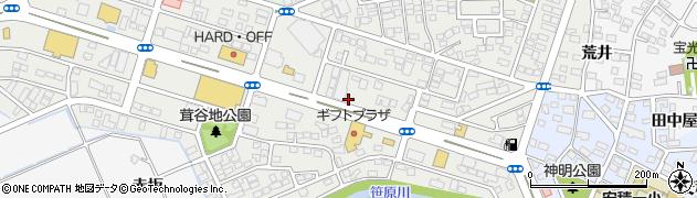 福島県郡山市安積町荒井(石樋)周辺の地図